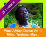iDance.net 20 West African Dance Lessons Online