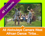 iDance.net 40 West African Dance Lessons Online