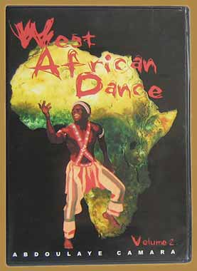 West African Dance Volume 2 DVD